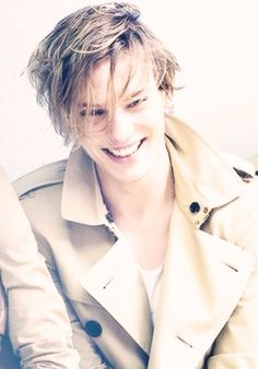 Jamie Campbell Bower his smile is perfection . i'm seriously NOT getting enough of him!