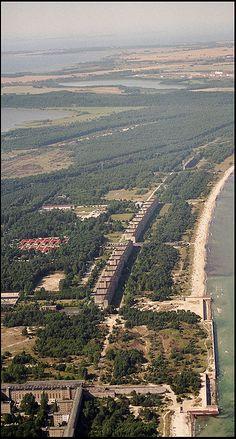 Rügen, Prora, ehemals als KdF-Ferienanlage konzipiert.
