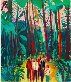 In his new exhibit, Jules de Balincourt turns up his 'California Love.'