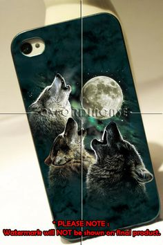 Three Wolf Moon 4/4s,5/5s/5c, Samsung Galaxy s3/s4 Case