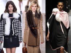 Le col fourrure Fashion Week, Fur Coat, Jackets, Fall Winter 2015, Trending Fashion, Mantle, Fashion Ideas, Down Jackets, Fur Coats