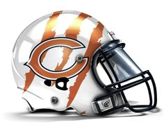 Chicago Bears Concept Helmet