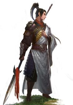 Fighter Knight Warrior Mercenary - Pathfinder PFRPG DND D&D d20 fantasy