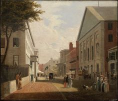 Philip Harry, Tremont Street, Boston, about 1843.