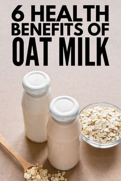 dairy free smoothie If youre lactose intolerant, vegan, or a non-dairy eater, this collection of homemade oat milk recipes is about to become your BFF! Smoothie Recipes, Smoothies, Oat Smoothie, Dairy Free Coffee Creamer, Milk Recipes, Crunches, Health Benefits, Health Tips, Oat Milk Benefits
