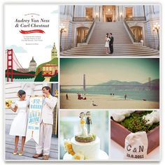 i heart san francisco by jody wody. minted's wedding inspiration board challenge.