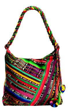 Guatemalan Bag - made from recycled skirts