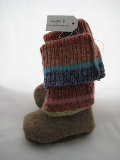 Felted wool project