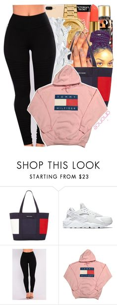 """- 120"" by arionce ❤ liked on Polyvore featuring Tommy Hilfiger and NIKE"