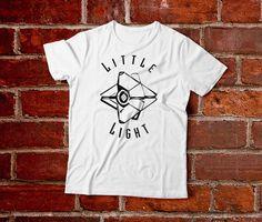 Little Light Destiny Ghost Shirt-- Destiny Game Shirt Destiny Video Game TShirt Gamer Shirt Gaming Shirt Bungie Warlock Hunter Titan Xbox  So cute. so simple