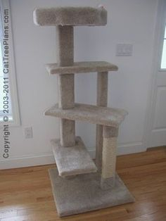 Pets on pinterest cat towers cat furniture and for Do it yourself cat tower