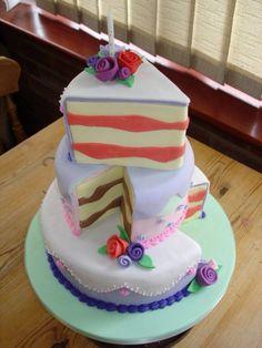 Cool cake design.