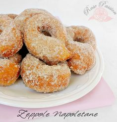 Zeppole Napoletane, ricetta tradizionale | Rose Passion