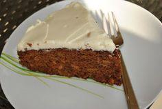 Lucy loves to bake: Mrkvová torta