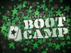 OUR #Scentsy BOOT CAMP SHIRT! Scentsy is so #generous to us!