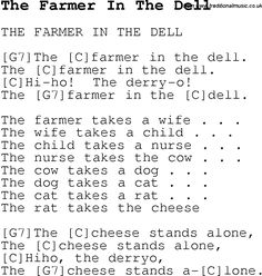 farmer in the dell coloring pages | London Bridge Falling Down - Kids Songs Lyrics and ...