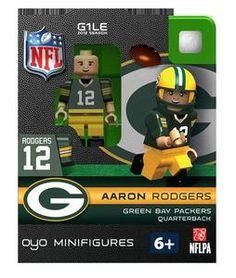 Aaron Rodgers Green Bay Packers OYO Figure - BiggSports.com