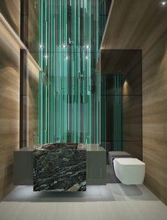 New powder room /Boca residence (https://www.pinterest.com/AnkAdesign/residential/)