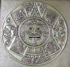 Cultural - Veldany Creations Pewter Art, Pewter Metal, Metal Projects, Metal Crafts, Tin Foil Art, Custom Belt Buckles, Tin Can Art, Cultural Crafts, Ancient Aztecs