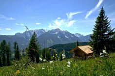 Eine Alm in Kärnten