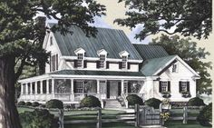 My Dream House....the one that is actually, possibly, manageable....with major prayers, a good economy, and lots of hard work! www.houseplans.com