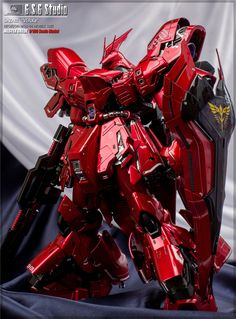 GUNDAM GUY: MG 1/100 Sazabi Ver. Ka - Painted Build