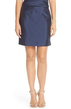 Monique LhuillierBridesmaids Taffeta Pencil Skirt available at #Nordstrom