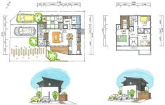 Japanese House, House Layouts, Building A House, Floor Plans, Cabin, How To Plan, Architecture, Modern, Design