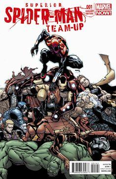 Superior Spider-Man Team Up #1 - Humberto Ramos (Variant) Cover