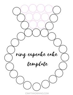 Here's a cute and cheap way to have an engagement/wedding cake! Use only cupcakes and arrange them to look like a diamond ring. Frost 9 cupcakes pink and 26 a mint green color then add sprinkles. Write the couple's name in the middle on a piece of cardboard or poster board. I love it! (Made …