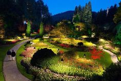 Jardins Butchard, Canadá