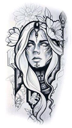 Dark Art Drawings, Tattoo Design Drawings, Pencil Art Drawings, Tattoo Sketches, Art Drawings Sketches, Tattoo Designs, Tattoo Ideas, Bild Tattoos, Body Art Tattoos