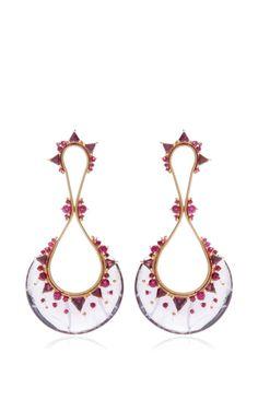 Fusion Drop Earrings by Fernando Jorge for Preorder on Moda Operandi