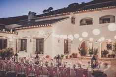 Real Weddings: Stefani and Christian's Spanish Wedding...vow renewal someday? :-)