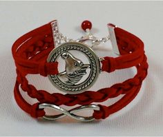 Made in CANADA  Pick COLOR / SIZE  Horse and Infinity by BeMyCharm, $11.99