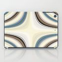 i pad cases Pattern brown and blue 3 by Christine Baessler