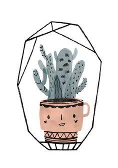 Cactus kopje paars
