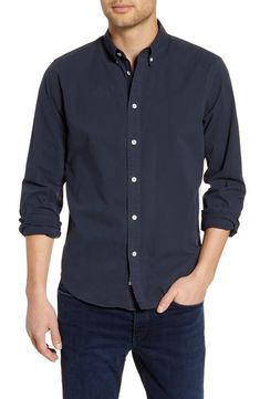 Find rag bone Fit 2 Tomlin Slim Fit Button-Down Shirt online. Shop the latest collection of rag bone Fit 2 Tomlin Slim Fit Button-Down Shirt from the popular stores - all in one Shirt Jacket, Shirt Outfit, Denim Button Up, Button Up Shirts, Front Button, Levi Jackson, Lined Flannel Shirt, Sports Shirts, Man Shop