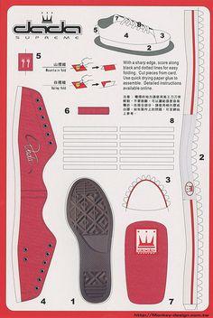 Dada Supreme Shoe - Cut Out Postcard | Flickr - Photo Sharing!