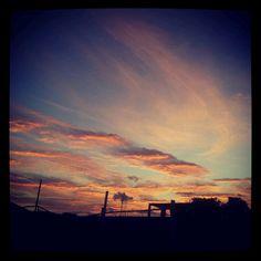 Los Celajes de un amanecer en la Cuna del Sol, Jutiapa
