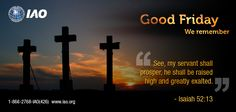 International Accreditation Organization wishes everyone a blessed Good Friday. IAO