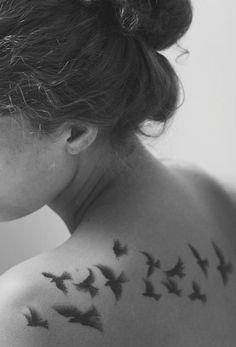 The prettiest tattoo birds i have seen!