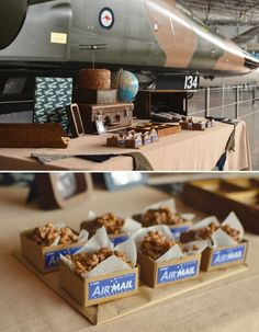 vintage-airplane-dessert-table