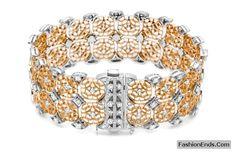 Gold daimond bracelets