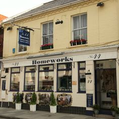 No.44 Homeworks is in Salisbury, Wiltshire an old market town. It's a very stylish shop sourcing out of the ordinary items, upholstery and great painted furniture.