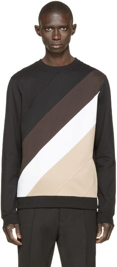 Carven Multicolor Striped Sweatshirt Bomber Jacket Men fee7c146c8f