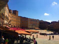 Siena ist zwar auch ein touristischer Hotspot mit vielen, vielen Menschen, aber nicht so überlaufen, wie Florenz. Die Stadt mit dem mittelalterlichen Charakter ist bekannt für das Palio die Siena, ein Pferderennen, das zwei Mal jährlich an der zentralen Piazza del Campo ausgetragen wird. Dann treten die 17 Contrade (Bezirke) der Stadt gegeneinander an. Den Rest des Jahres zieren Restaurants, Cafés, Shops und Stände die Rennstrecke. Siena, Restaurants, Shops, Street View, Horse Racing, Florence, Getting To Know, Tourism, City