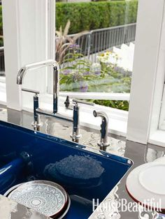 #Kitchen of the Month, October 2012, Colored Sink