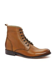 ASOS Boots With Leather Sole