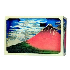 Tatebanko Paper Diorama Kits. Tatebanko is the forgotten Japanese art of creating amazing dioramas and scenic perspectives from paper. Tatebanko was popular and widely admired from the 17th century Edo period to the early 20th century.  The Mt. Fuji is double sided so you can enjoy 2 different scenes from the front and back.